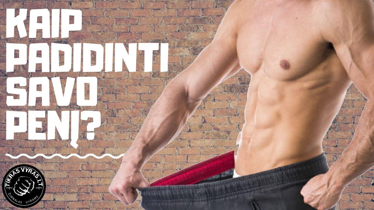 vaizdo apzvalga Kaip padidinti peni Vyru nariu forma ir dydziai