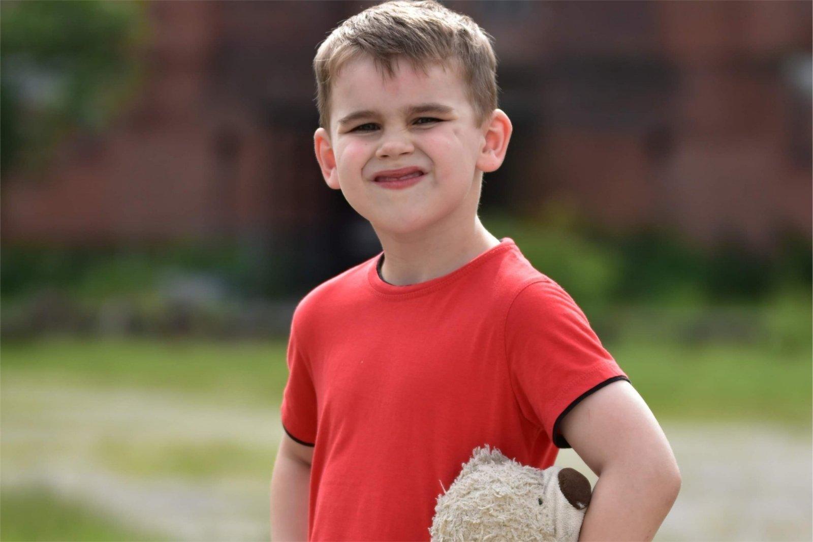 Nario dydis 8 metu berniukas