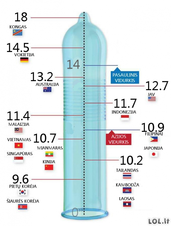 Normalus dydis ir nario ilgis kiek gali buti vyru narys