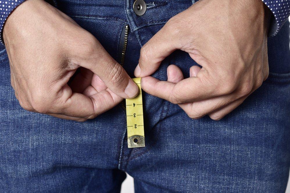 Nario dydis yra koncepcijos verte Penio dydis ir skersmuo ir ilgis